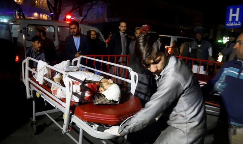 El Departamento de Estado condenó hoy el atentado contra una ceremonia religiosa en el centro de Kabul, que ha causado medio centenar de muertos y 72 heridos. EFE/ARCHIVO