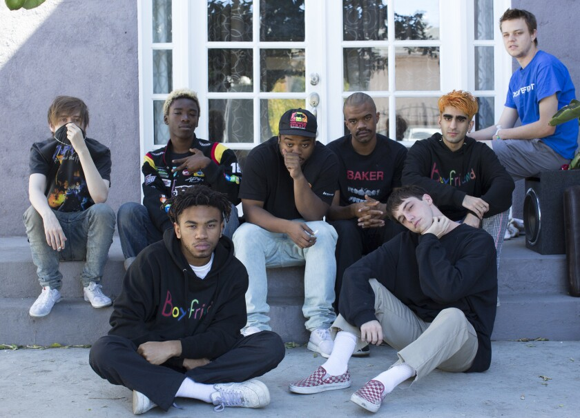 Hip-hop collective Brockhampton puts a new spin on the ...