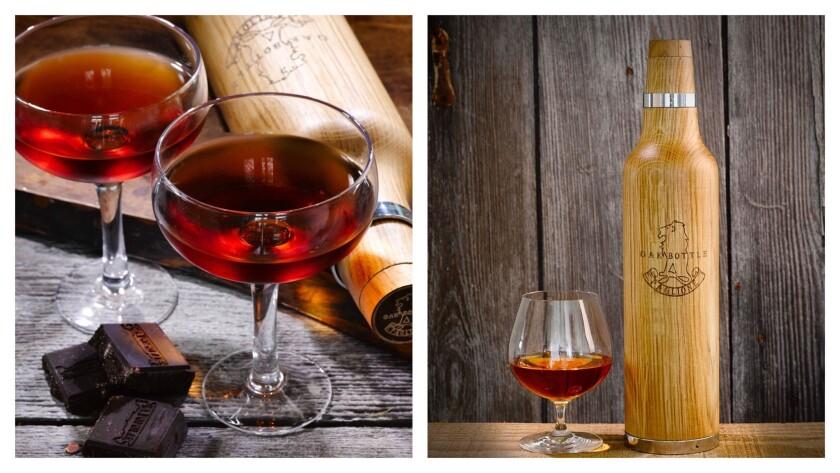 Oak Bottle is used to add oak to beverages