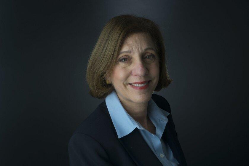 Councilwoman Barbara Bry of La Jolla