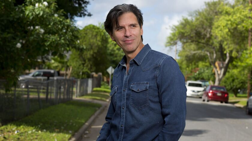 "Oscar Cásares, author of ""Where We Come From."""