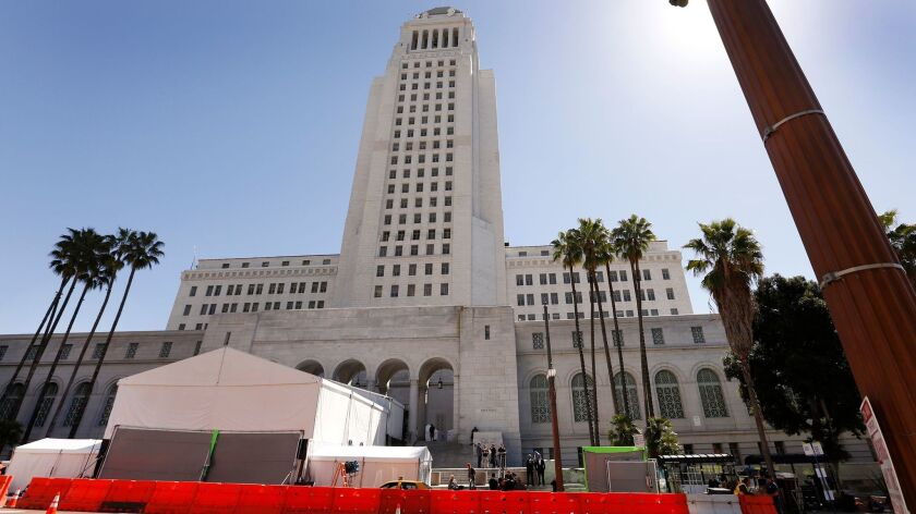 Several Los Angeles City Council members received contributions from a developer and a billboard executive who were fined by the Ethics Commission for violating rules governing political donations.