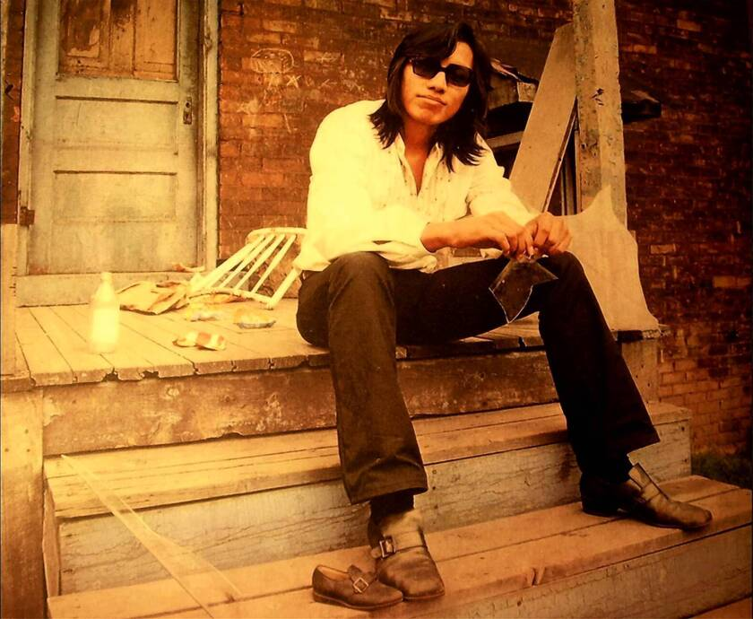 """Rodriguez is the subject of the documentary """"Searching for Sugar Man."""""""