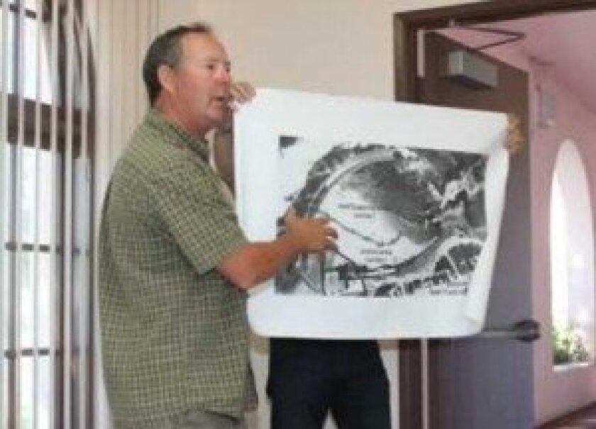 Ed Harris addresses the La Jolla Parks and Beaches city advisory group in 2012. File