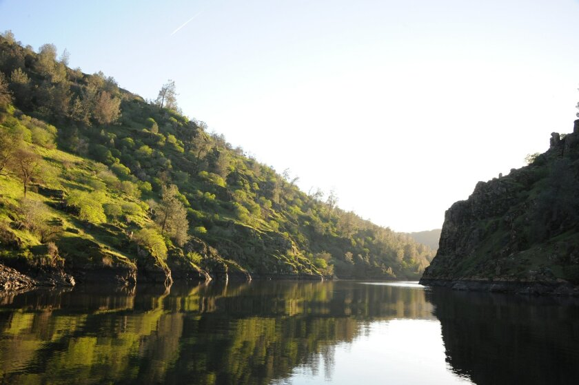 Lake Tulloch near Copperopolis in the Sierra foothills is Ground Zero in a dispute over water.