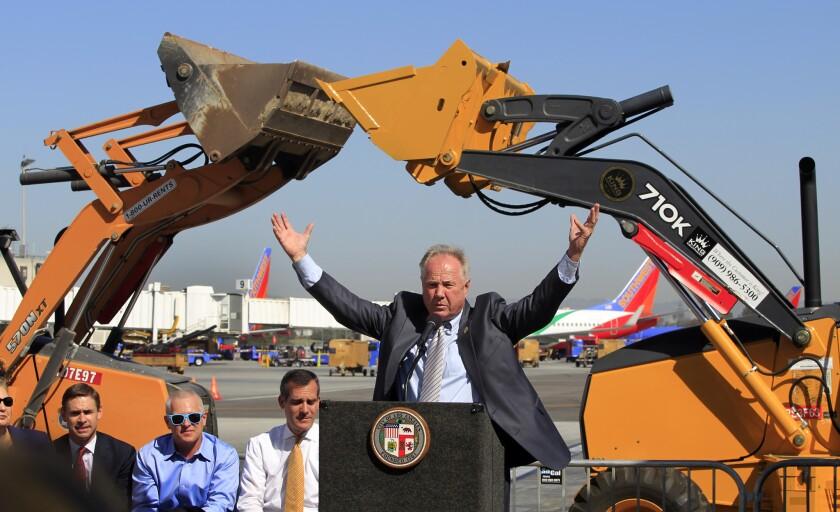 LAX Terminal 1 renovation begins