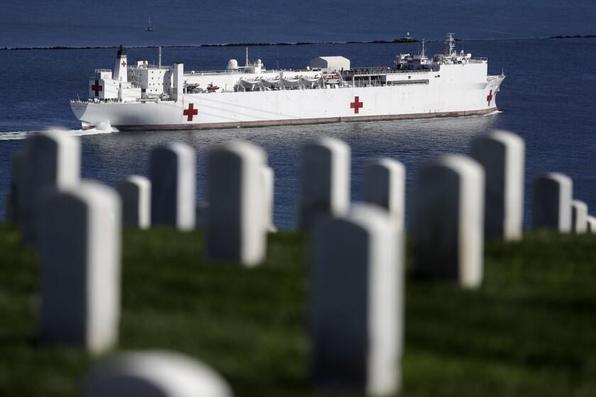 Navy hospital ship Mercy