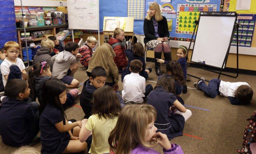 Schoolchildren in San Jose