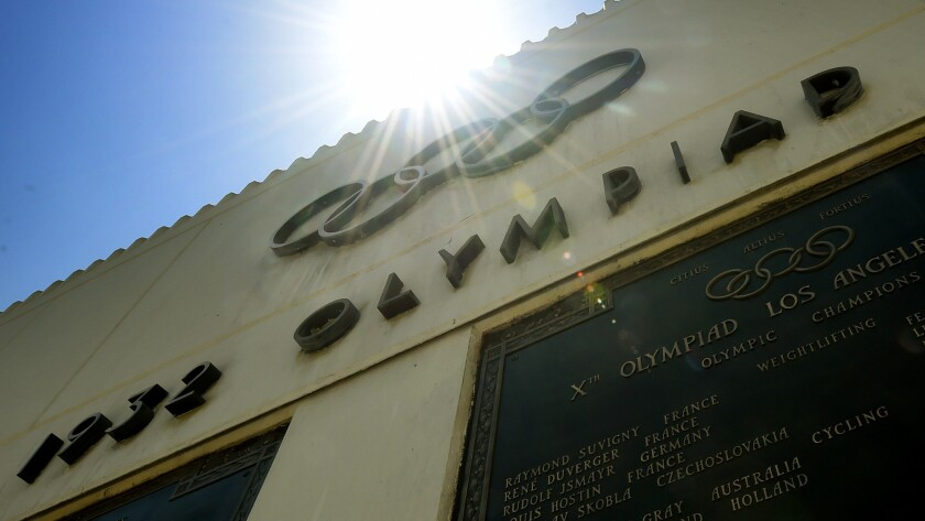 The Memorial Coliseum, the main stadium for the 1932 Summer Olympics, would be renovated if Los Angeles lands the 2024 Games.