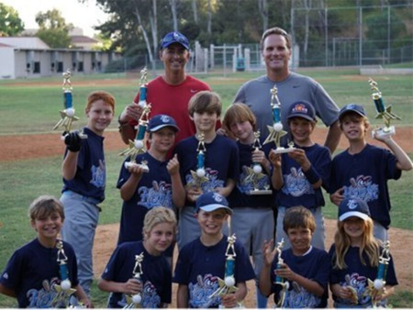 RSF Little League Minors Division Champion — The Hooks.