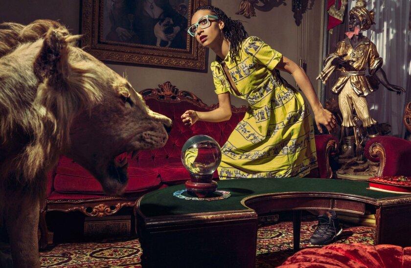 Jazz musician Esperanza Spalding, the Grammys' Best New Artist in 2011.