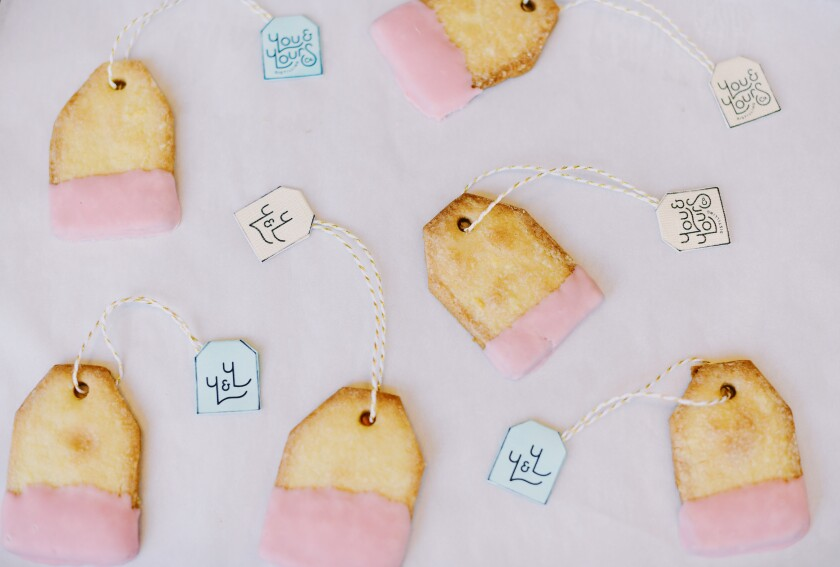 You & Yours' teabag cookies could not be sweeter.