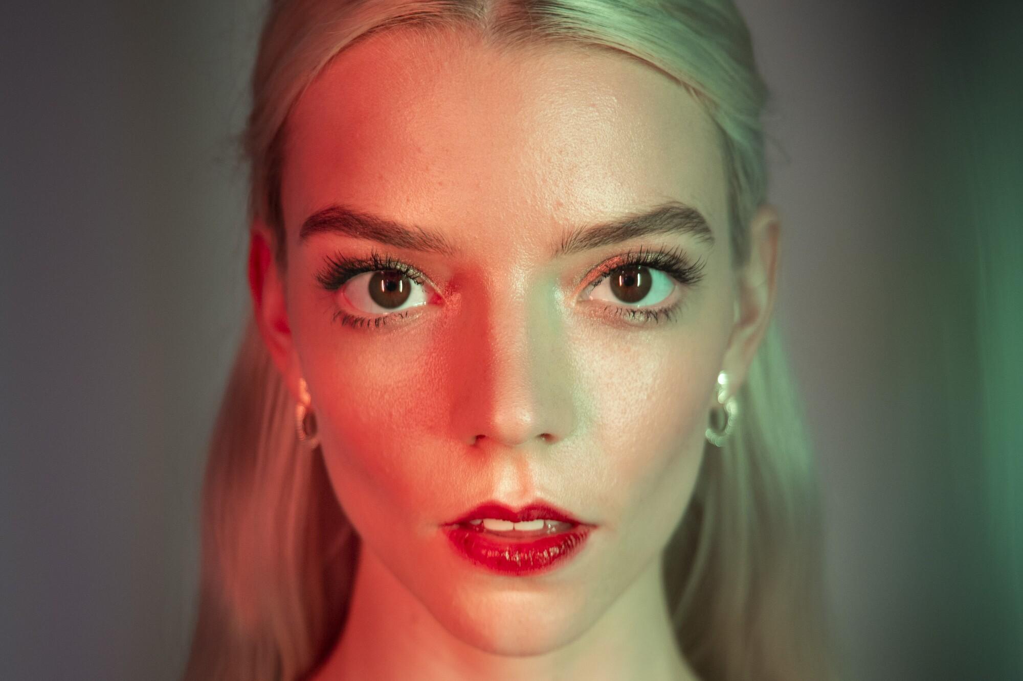 A portrait of Anya Taylor-Joy