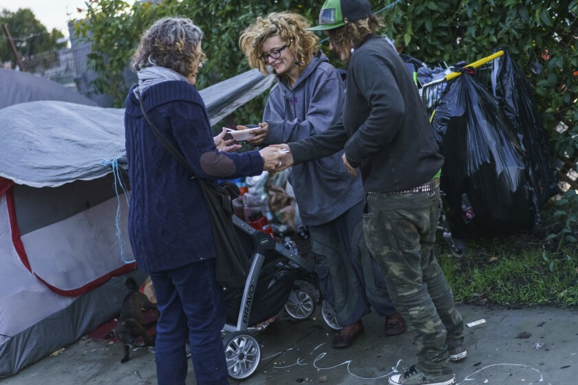 Chef Cal Peternell feeds the homeless