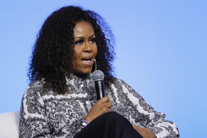 Virus Outbreak Michelle Obama