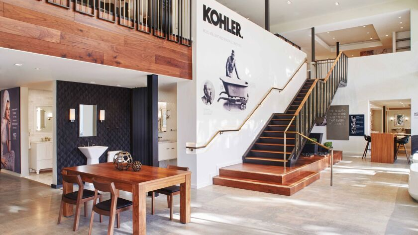 The Kohler Experience Center in West Hollywood. KEC LAX features more than 20 kitchen and bath vigne