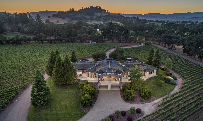 Lamar Hunt's wine country ranch