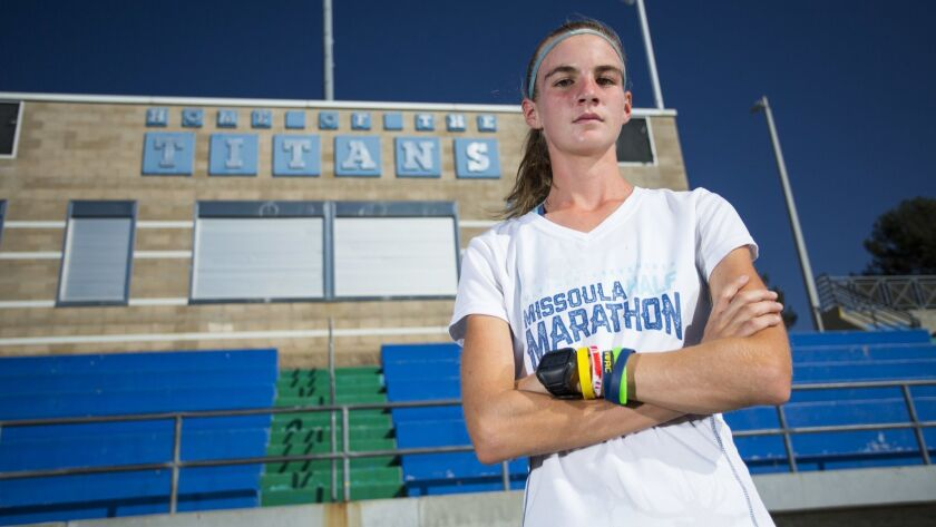 Eastlake's Patricia Miessner will try to defend her title in the San Diego Section Division I final.