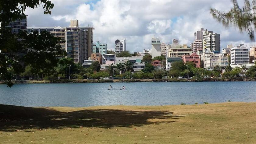 Vista de la Laguna del Condado en San Juan, Puerto Rico. EFE/Archivo