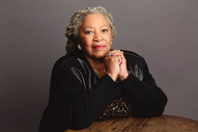 Toni Morrison in the documentary 'Toni Morrison: The Pieces I Am'
