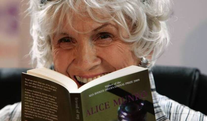 Canadian author Alice Munro in 2009. The Nobel laureate evokes the glory and heartache of ordinary lives in her short stories.