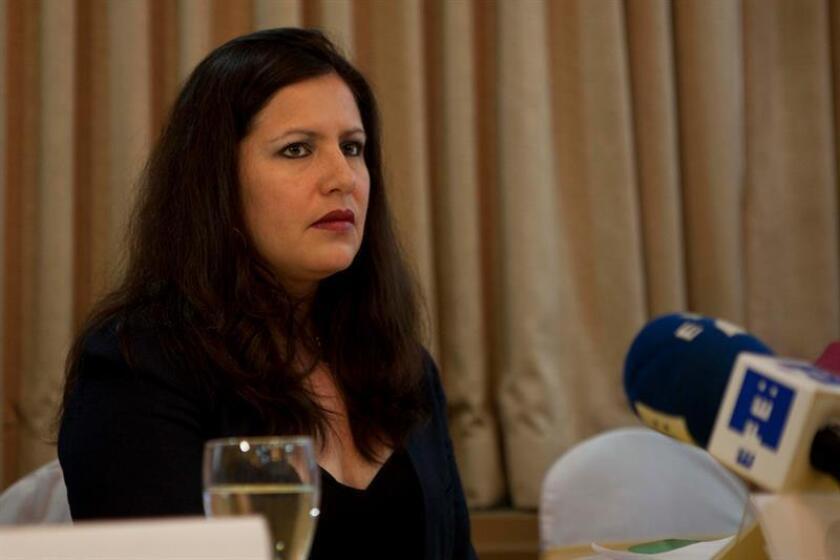 """La organización Amnistía Internacional (AI) exhortó hoy a los países de América Latina y el Caribe a """"hacer historia"""" al firmar el Acuerdo de Escazú que tendrán disponible a partir del 27 de septiembre en la sede de las Naciones Unidas. La directora de Amnistía Internacional para las Américas, la mexicana Erika Guevara-Rosas. EFE/ARCHIVO"""