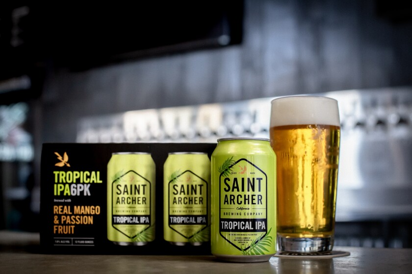 From Aug. 26 through Sept. 1, proceeds from the sale of Saint Archer's Tropical IPA will go to WILDCOAST.