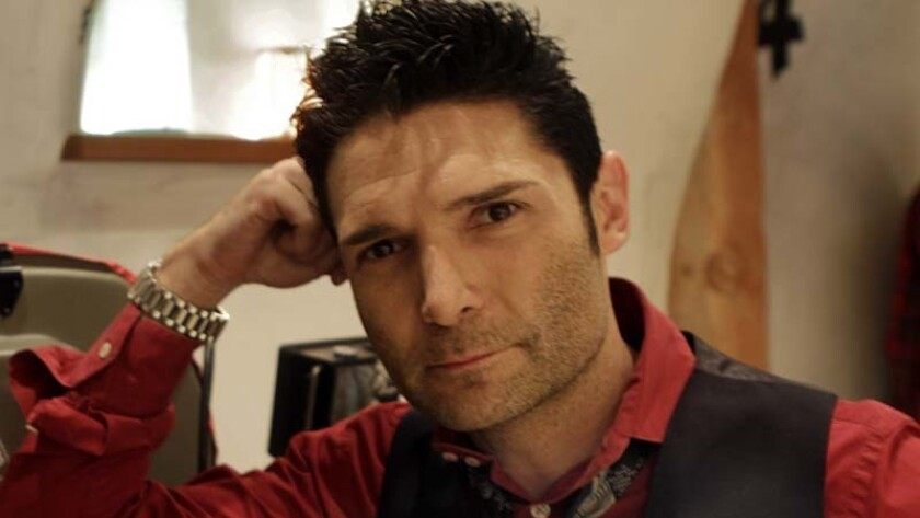 Corey Feldman on a movie set in Venice in December 2011. The actor made a report to the Los Angeles Police Department that he was molested as a child in Hollywood by members of the industry.