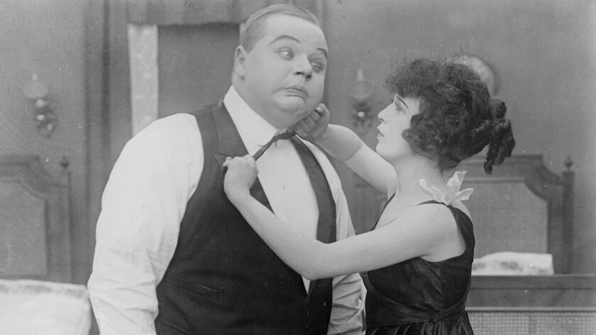 Fatty Arbuckle will be featured in a screening of his 1915 comedy Fatty and Mabel Adrift.