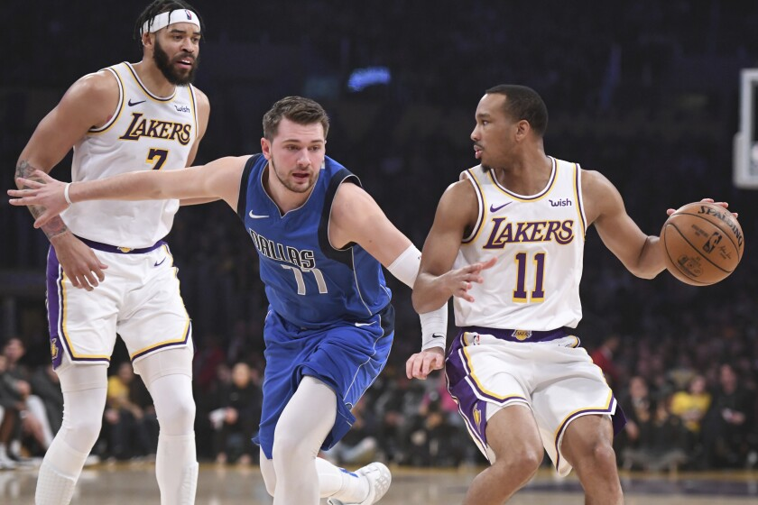 Lakers Focus On What S Next After A Daunting December Los