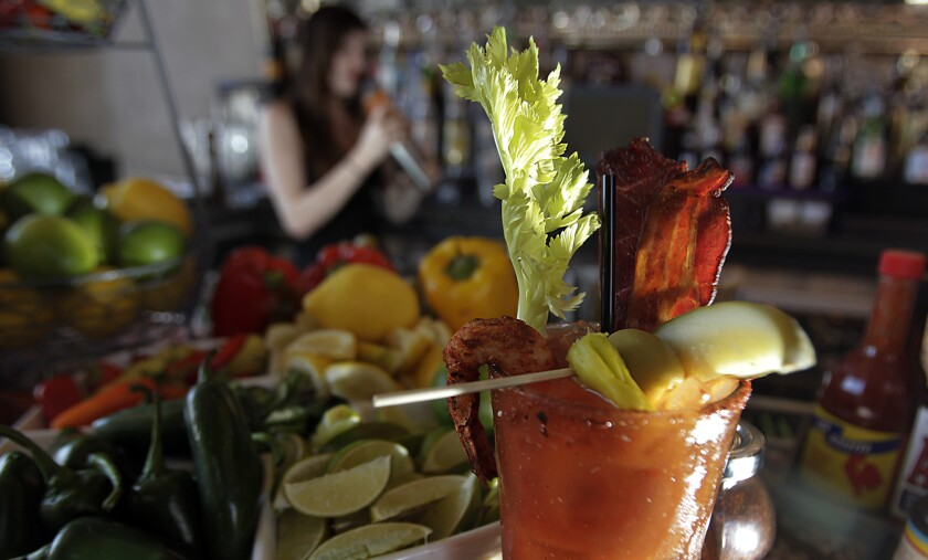 Scientists have a theory about why Bloody Mary drinks are so popular on planes.