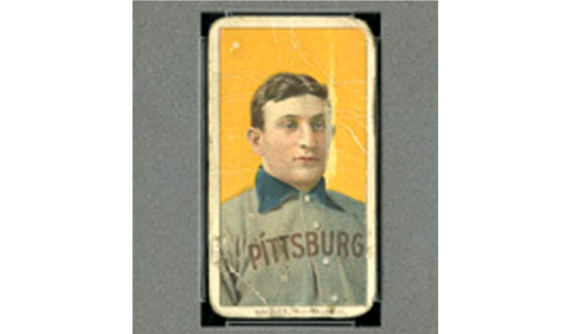 Honus Wagner Baseball Card Sells For 12 Million Los Angeles Times