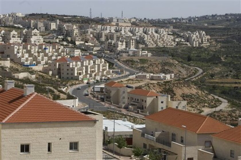 General view of the Jewish settlement of Beitar Illit, near Jerusalem, Monday, March, 8, 2010. Israel has authorized the construction of 112 new apartments in the West Bank despite a settlement slowdown, the government disclosed Monday _ a decision that enraged the Palestinians a day after they rel