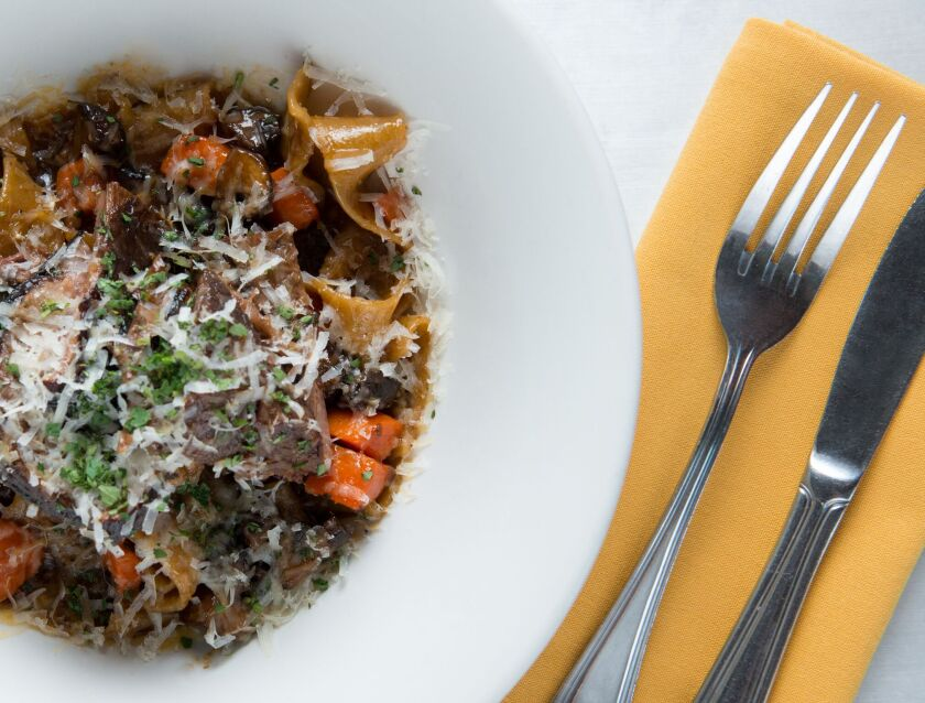 Cucina Urbana's short rib pappardelle is a restaurant favorite.