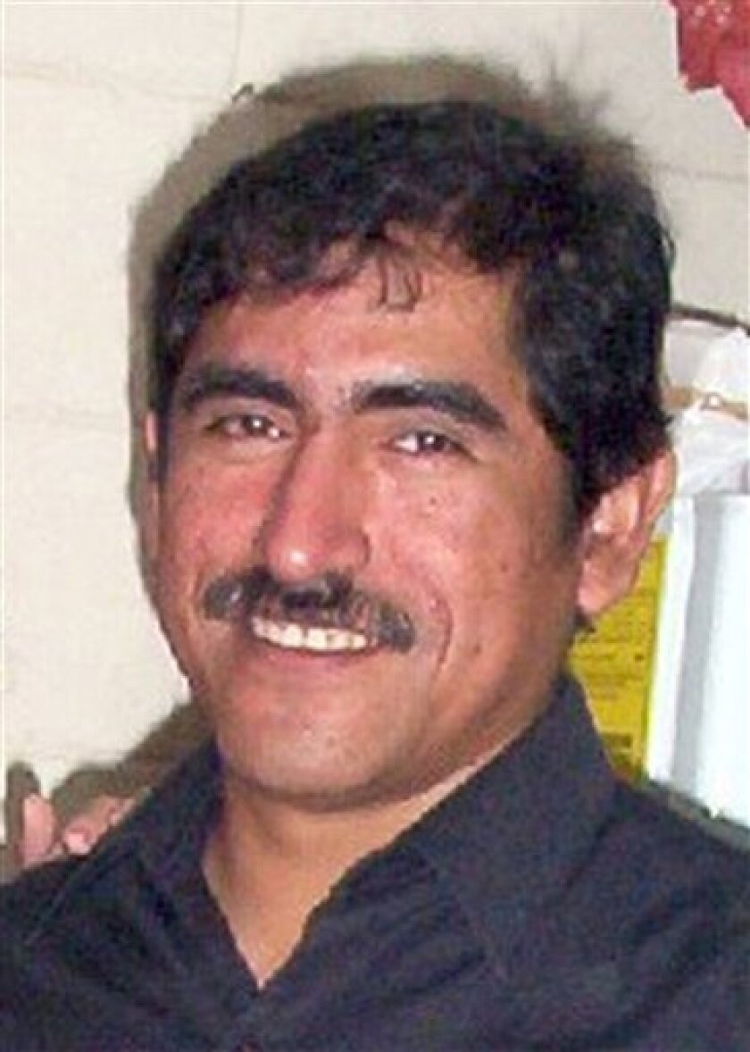 In this undated image released on Thursday, June 14, 2012 by Milenio newspaper, journalist Víctor Manuel Baez Chino poses for a picture in Xalapa, Mexico. Baez, a correspondent for Milenio Xalapa, was found dead on June 14, 2012 in downtown Xalapa one day after he was kidnapped, according to Veracr