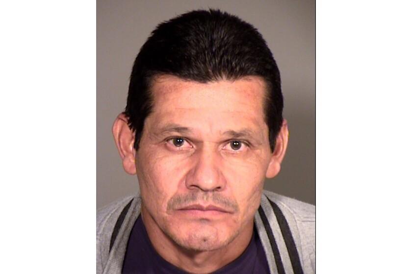 Thousand Oaks police arrested Antonio Cerna on suspicion of indecent exposure.