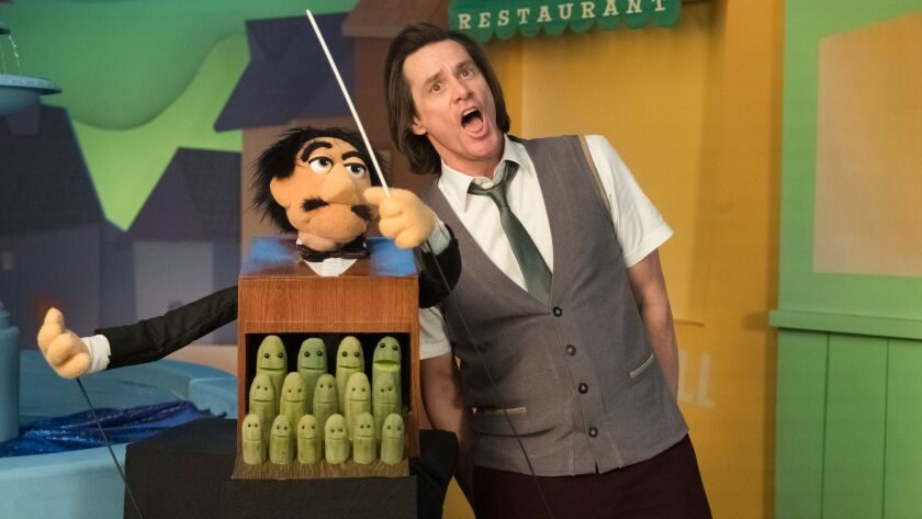 """Jim Carrey in a scene from Showtime's """"Kidding."""""""