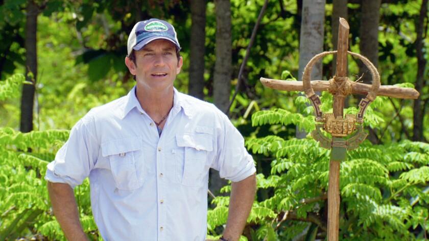 """Survivor"" host Jeff Probst"