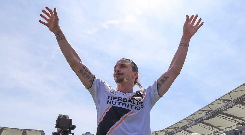 Zlatan Ibrahimovic, fichaje estelar del Galaxy de la MLS.