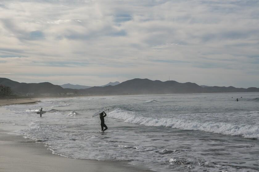 A beach in Baja California Sur.