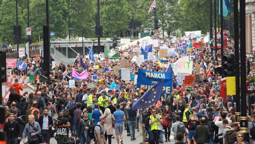 Anti-Brexit rally