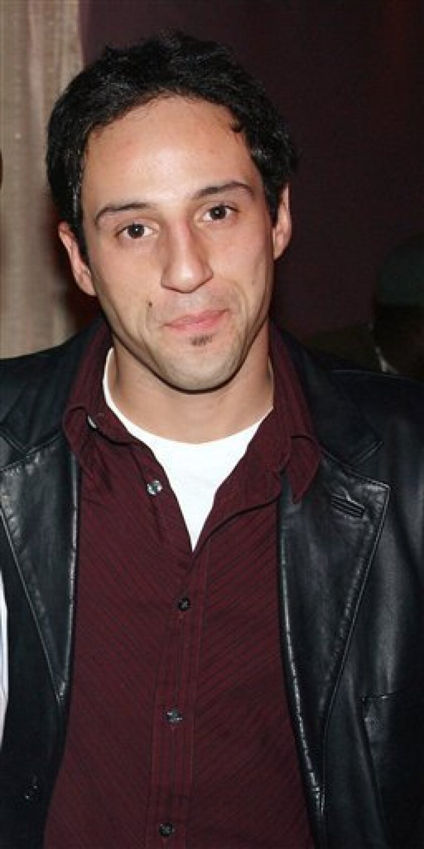 Actor Lillo Brancato, Jr. is shown in this Feb. 2005, file photo in New York. Brancato is charged with second-degree murder in the 2005 shooting death of Officer Daniel Enchautegui. A mistrial was avoided in his trial after it was discovered a juror had been taking notes during testimony and doing research on the case at home. Brancato agreed to a substitution with an alternate juror Thursday, Dec. 18, 2008, after the original juror was dismissed. His consent was required because the jury had already started deliberating. (AP Photo/David Greene, file)