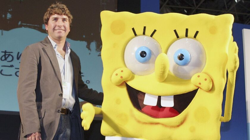 "(FILE) Stephen Hillenburg Dies Aged 57 ""The SpongeBob SquarePants"" Preview At Tokyo International Anime Fair"