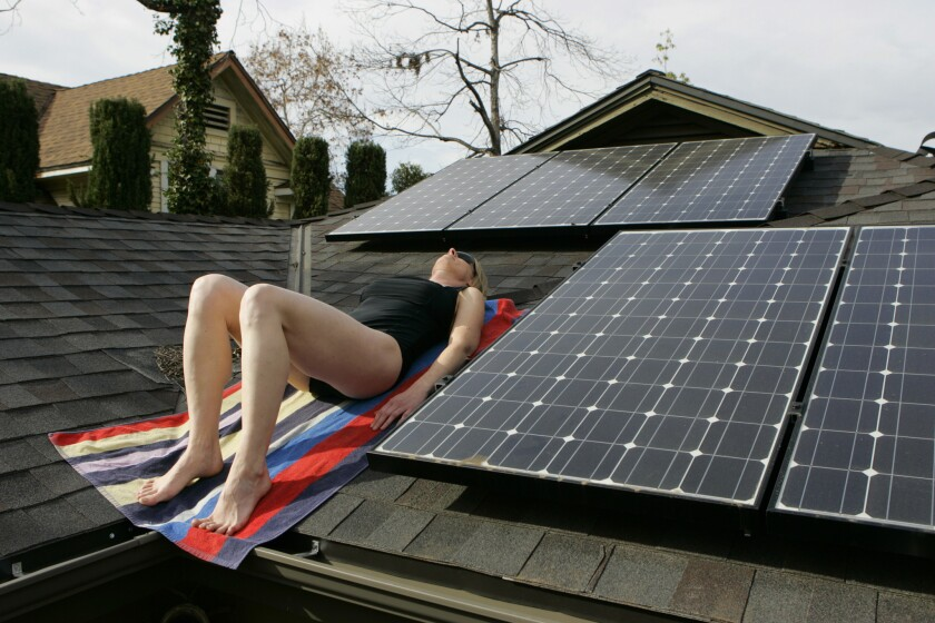 Los Angeles announced this week online permitting for solar panels, helping streamline the process for homeowners.