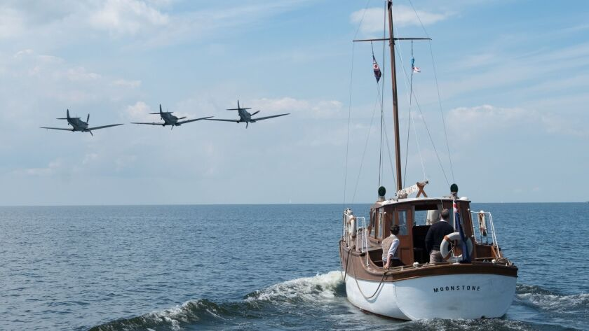 "A scene from the film ""Dunkirk."" Credit: Melinda Sue Gordon / Warner Bros. Pictures"