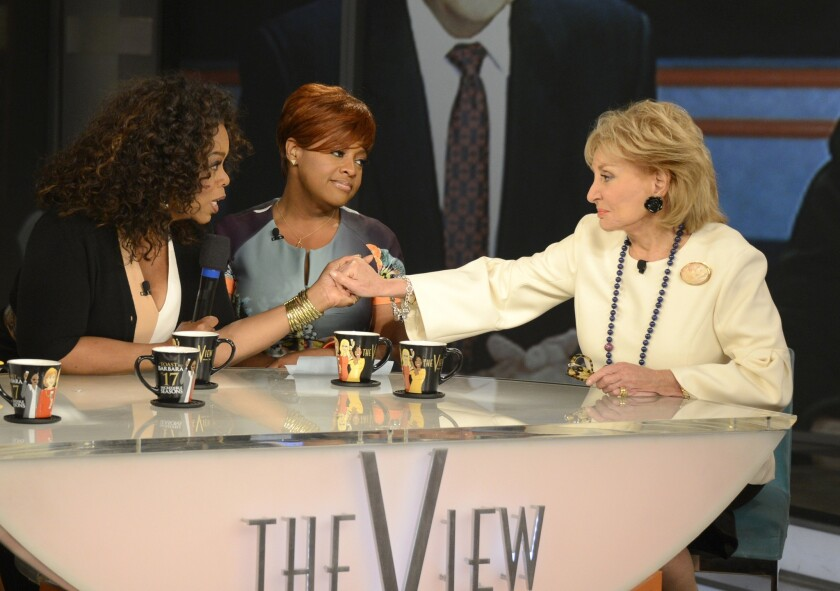 Barbara Walters' final episode of 'The View'
