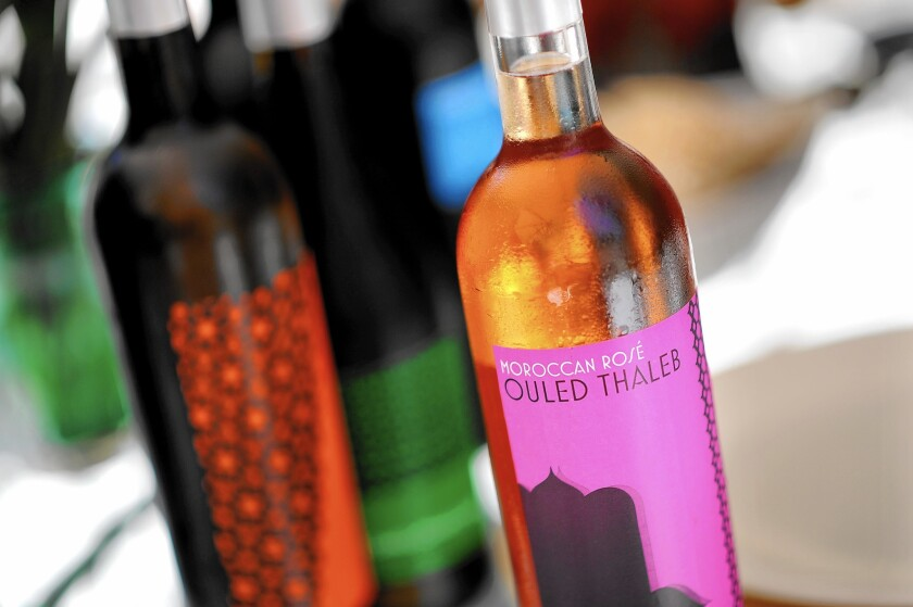 Moroccan wines made at Ouled Thaleb are imported by Didier Pariente and are making their way onto Los Angeles restaurants' lists.