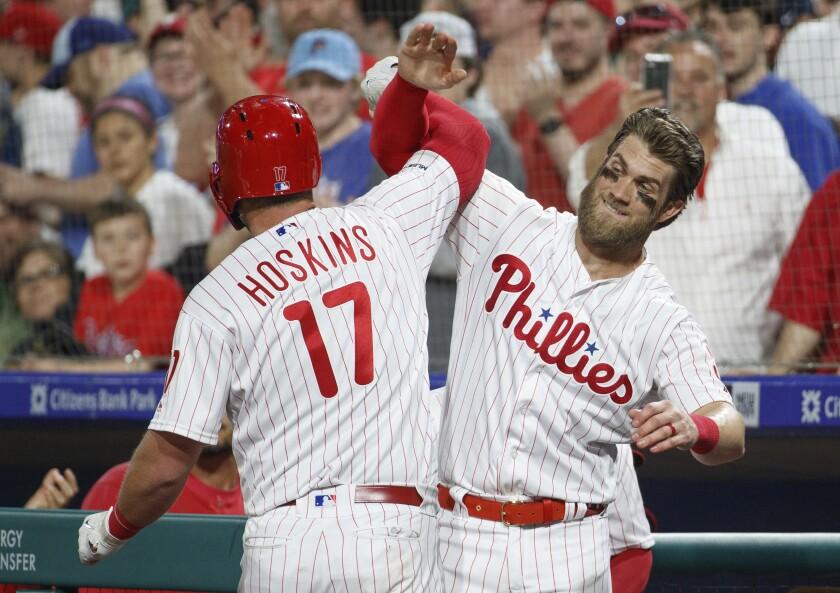 APphoto_Nationals Phillies Baseball
