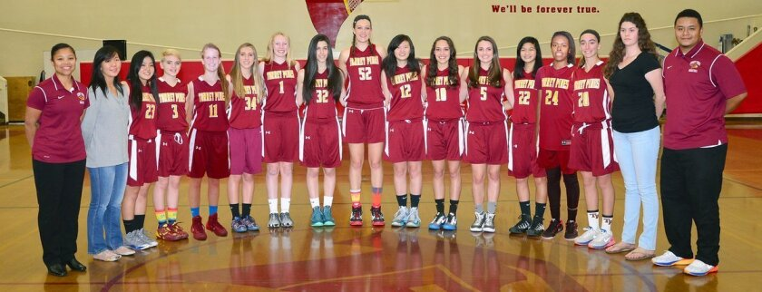 Everyone is invited to come and watch the Torrey Pines girls basketball team on Friday, Feb. 6.