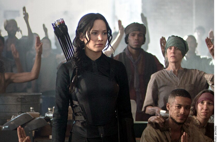 "Jennifer Lawrence protagoniza ""The Hunger Games"""